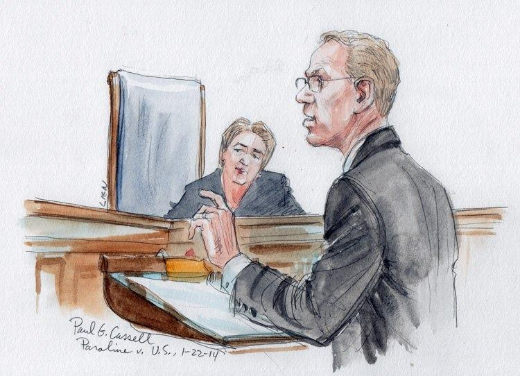 Paul G. Cassell Arguing at the Supreme Court in Paroline v. Amy Unknown (January 22, 2014)